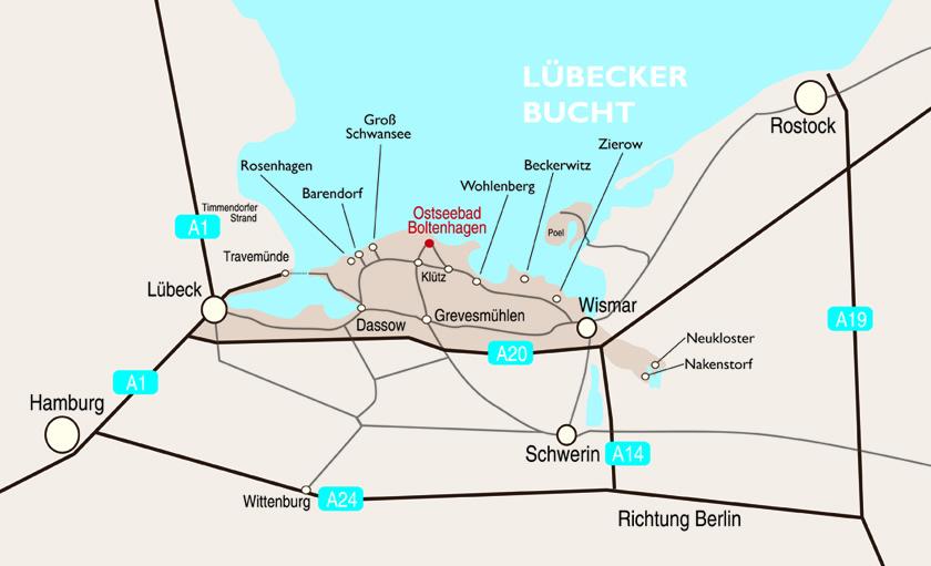 Ostseebad Boltenhagen Karte.Zierow Boltenhagen An Der Ostsee